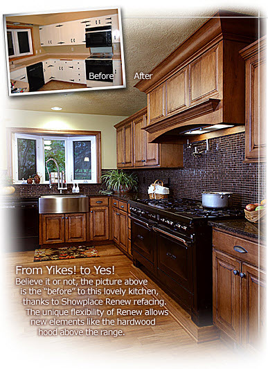 Superb Give Your Kitchen New Life With 3 Day Kitchen U0026 Bath Cabinet Refacing Home Design Ideas