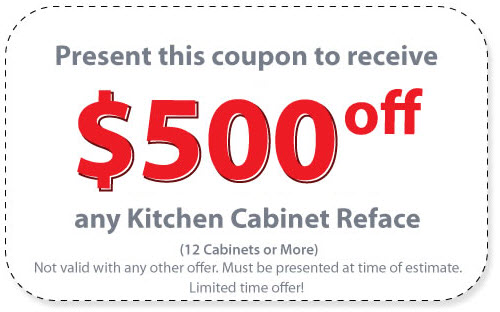 Kitchen Remodel / Refacing Coupon